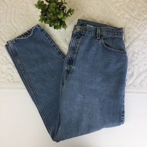 Levi's 550 relaxed fit tapered leg mom jeans    P3